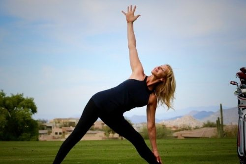 Restorative Yoga Poses for Golfers